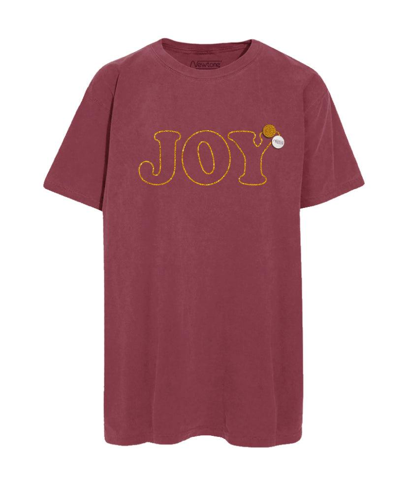 "Tee shirt trucker brick ""JOY"""