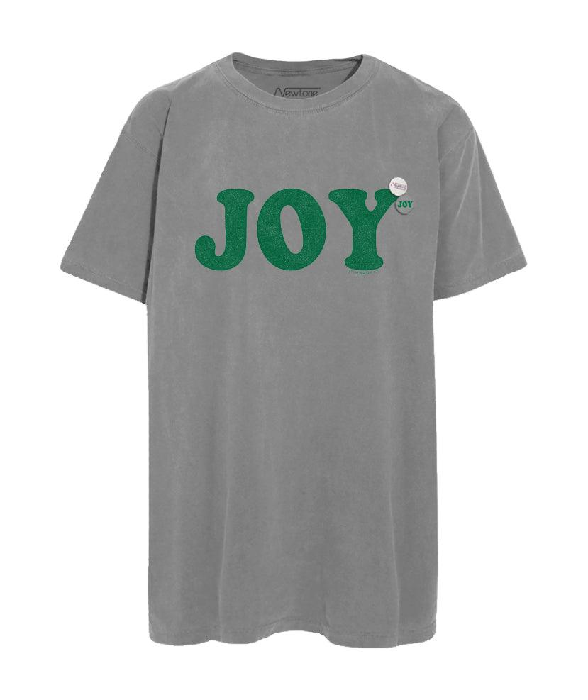 "Tee shirt grey ""JOY"""