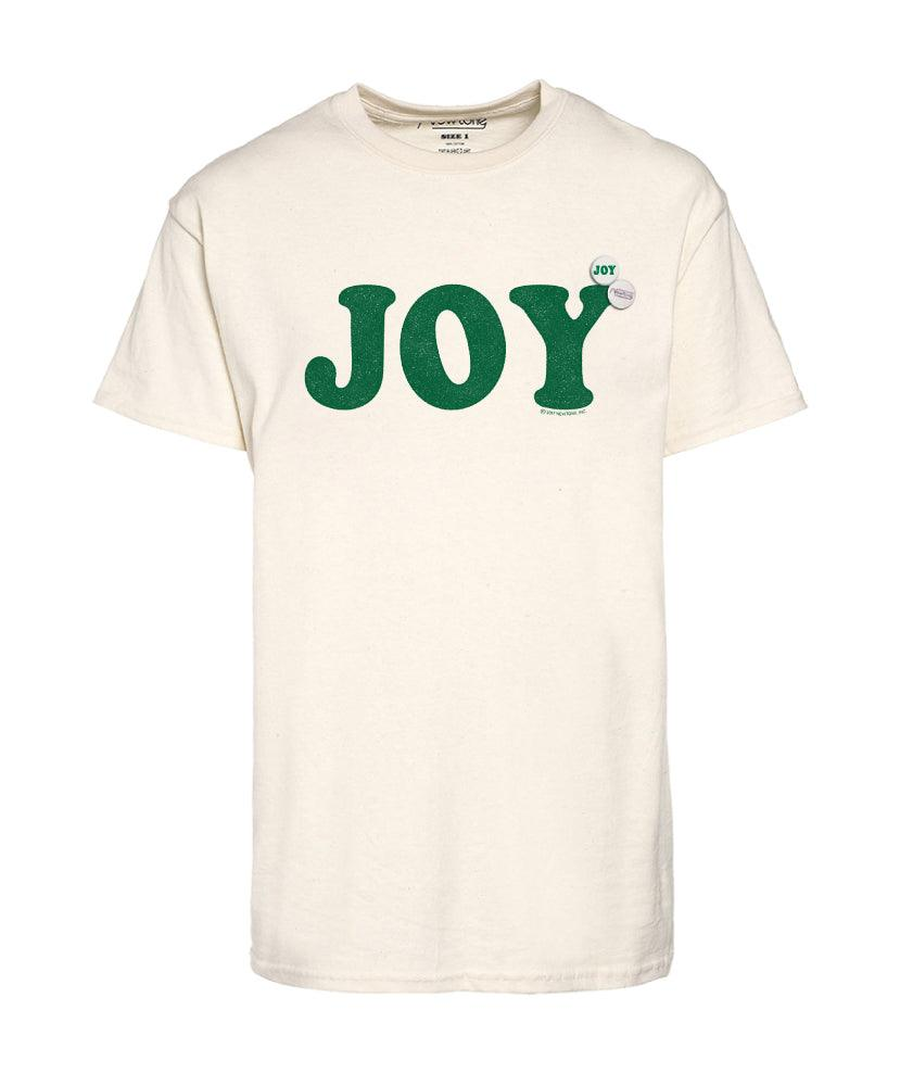 "Tee shirt natural ""JOY"""
