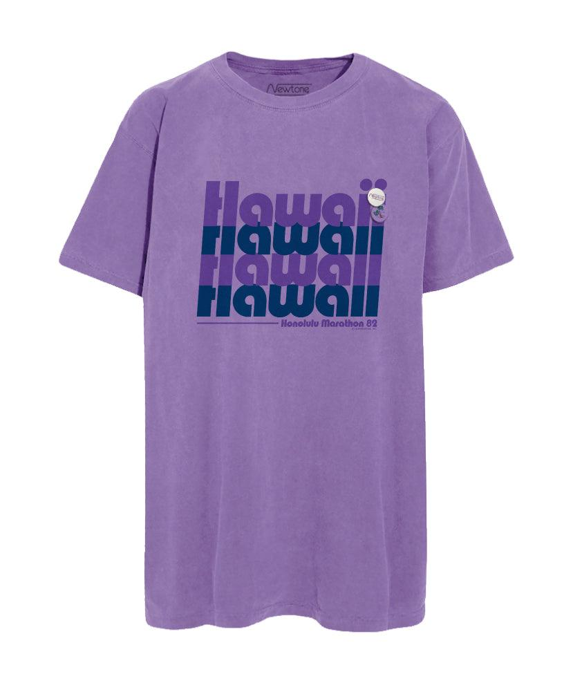"Tee shirt purple ""HAWAII"""