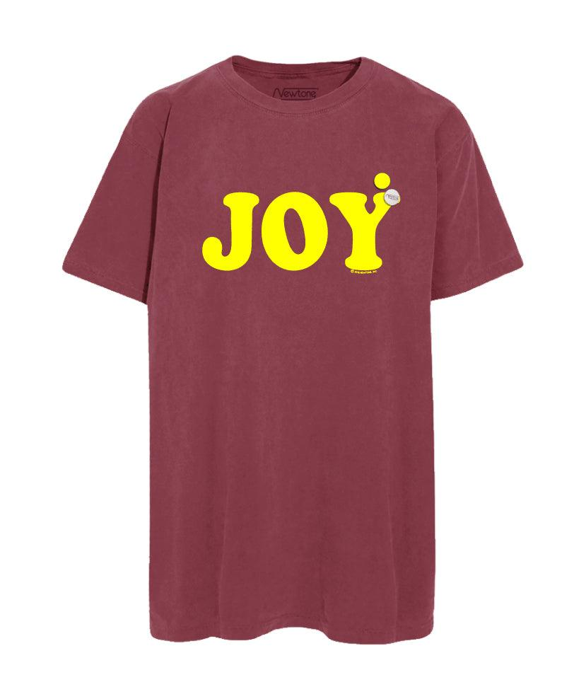 "Tee shirt trucker cherry ""JOY"""