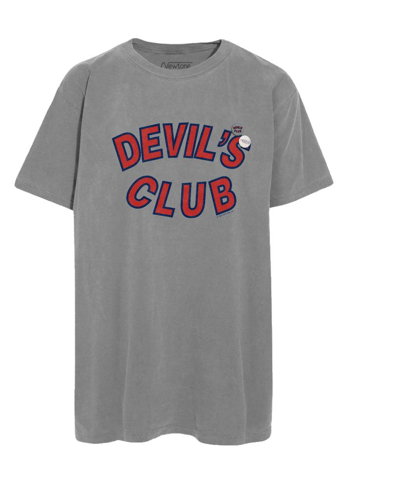 "Tee shirt trucker grey ""DEVIL"""