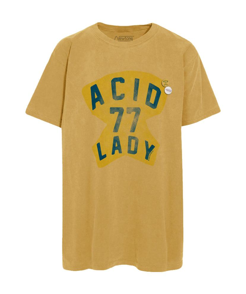 "Tee shirt trucker mustard ""ACID"""