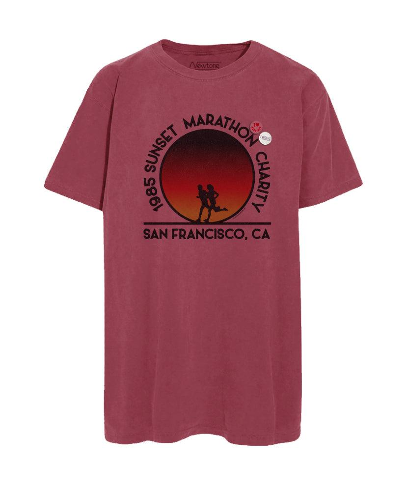 "Tee shirt trucker brick ""SF MARATHON"""