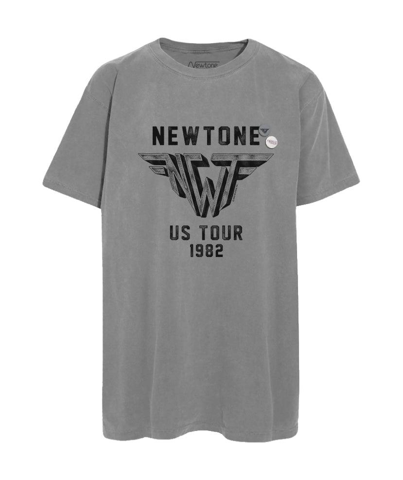 "Tee shirt trucker grey ""WINGS"""