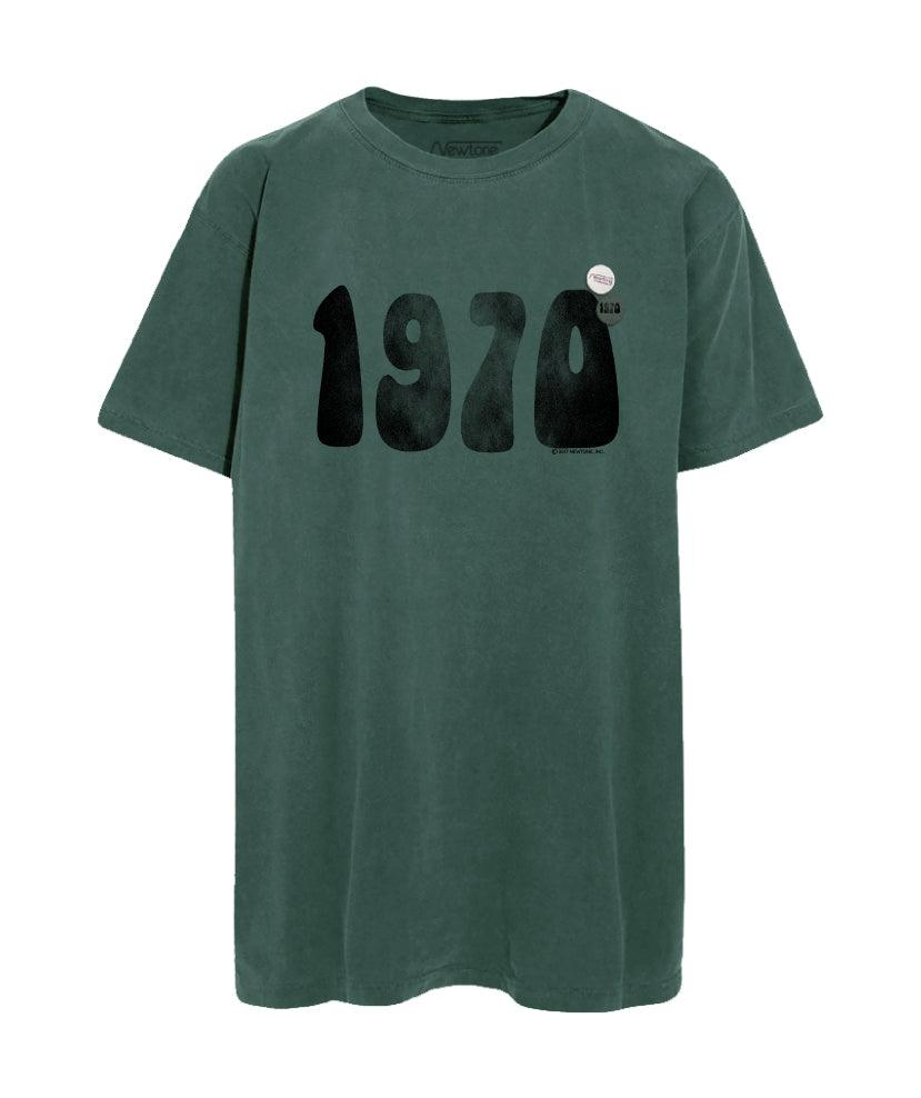 "Tee shirt trucker forest ""1970"""