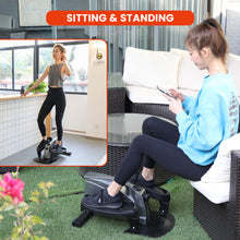 Load image into Gallery viewer, zinray elliptical standing and sitting workout