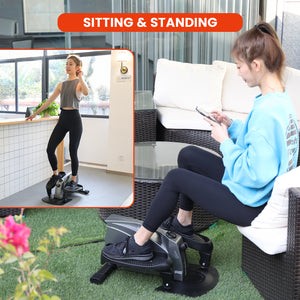 zinray elliptical standing and sitting workout