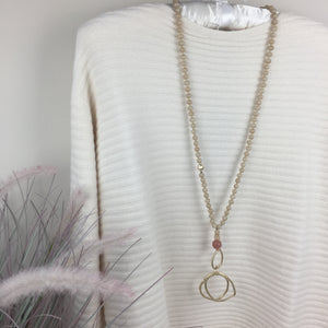 ENVY LONG BEADED NECKLACE