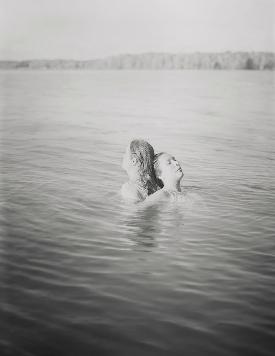 Amrita Stützle - Mom + I, Cross Lake, 2019