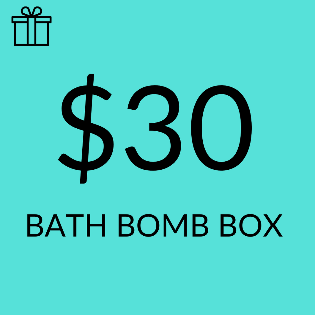 $30 Assorted Sampler Bath Bomb Pack