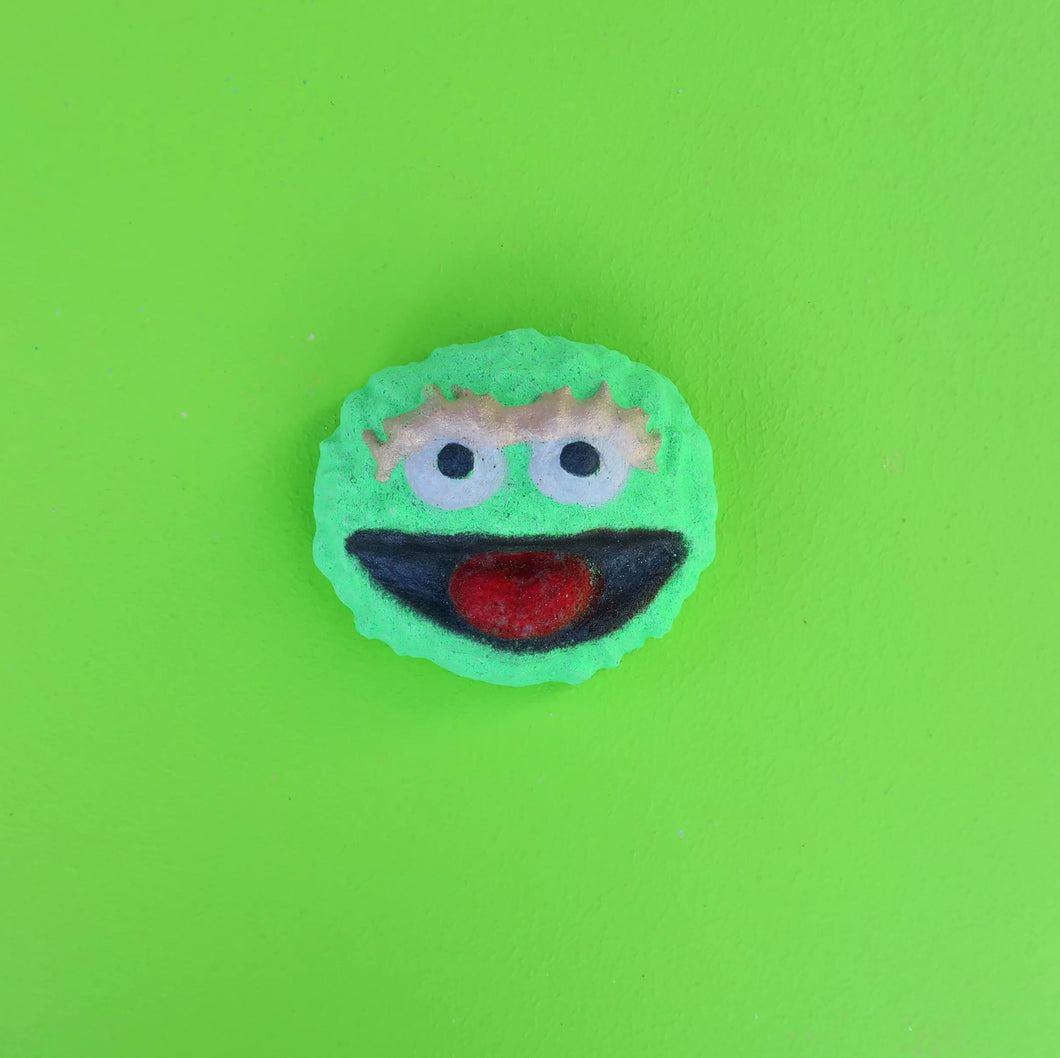Grouchy Oskar- Not The Grouch Bath Bomb 160g (Limited Edition)