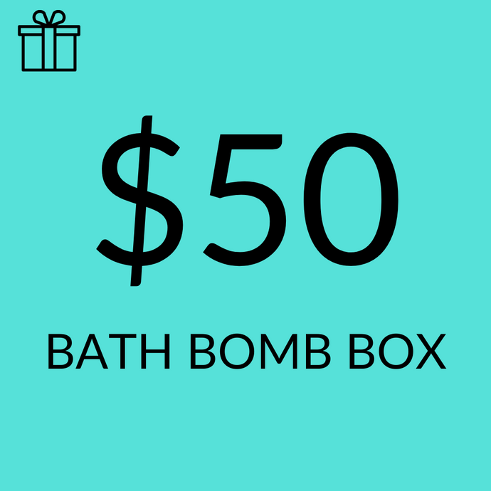 $50 Assorted Sampler Bath Bomb Pack