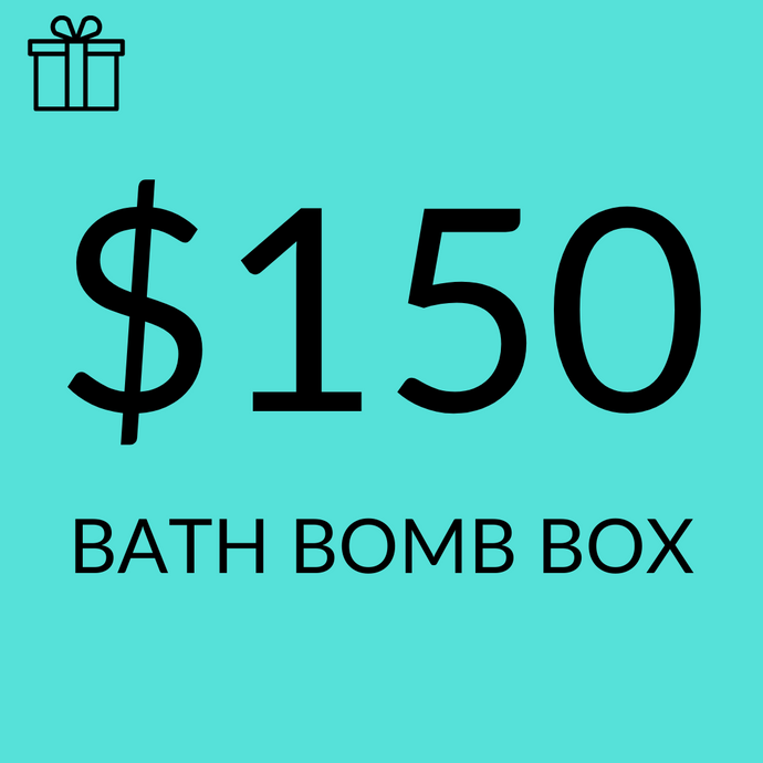 $150 Assorted Sampler Bath Bomb Pack