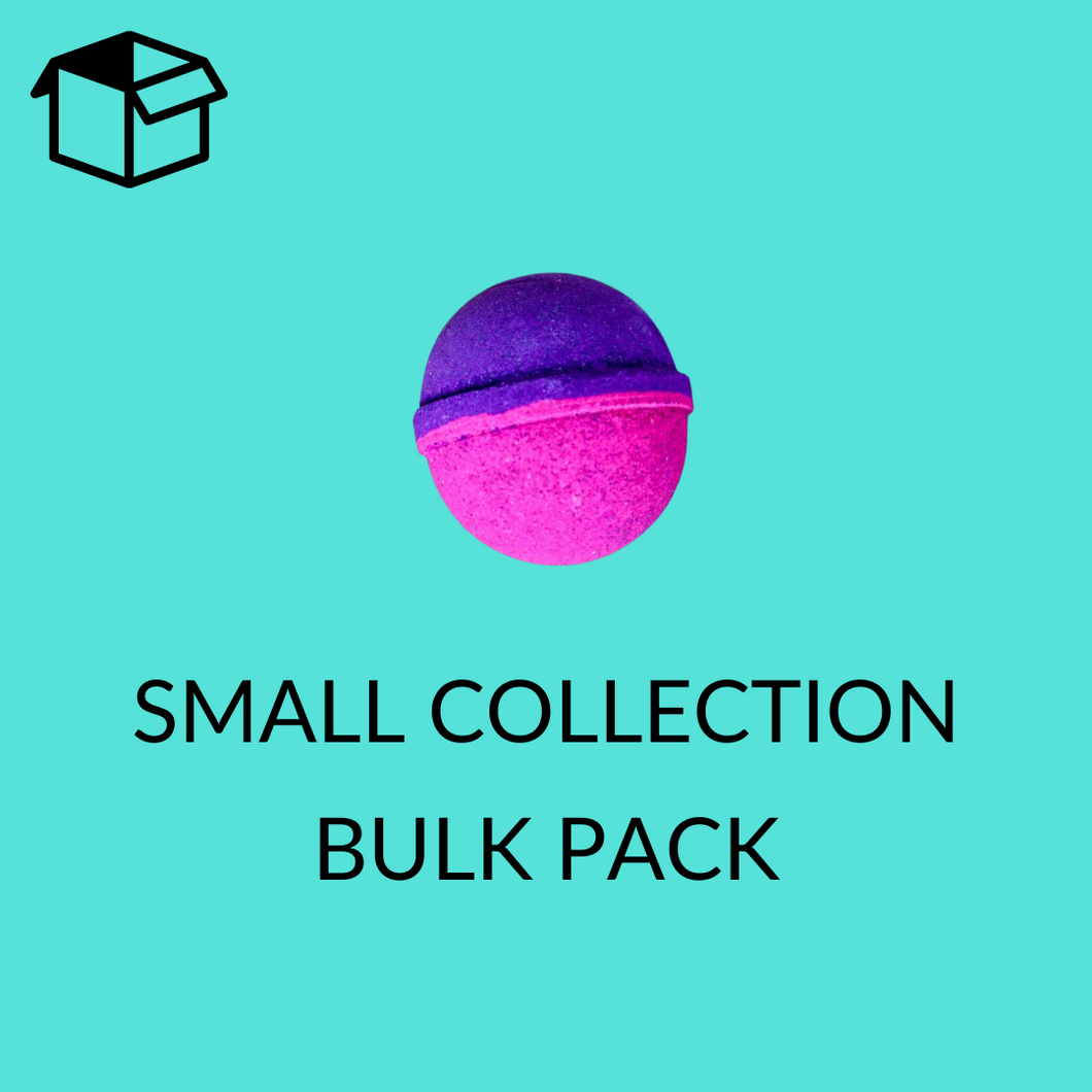 Small Bath Bomb Collection - Bulk Pack