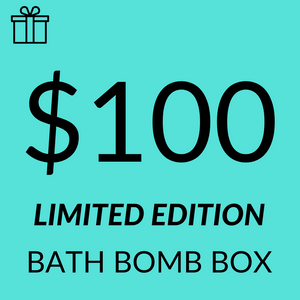 $100 Assorted Sampler Limited Edition Bath Bomb Pack