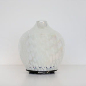 Pearlescent White Spotted Ultrasonic Diffuser