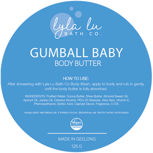 Gumball Baby Body Butter 125g - Lyla Lu Bath Co