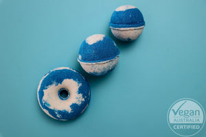 Bopping Blueberry - Bath Bomb - Lyla Lu Bath Co