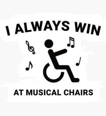 MUSICAL CHAIRS is a custom made funny top quality sarcastic t-shirt that is great for gift giving