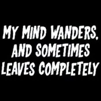 My Mind Wanders and Sometimes Leaves all Together is a custom made funny top quality sarcastic t-shirt that is great for gift giving or just a little laugh for yourself