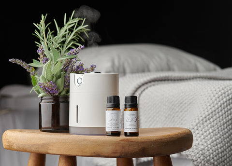 diffuser with aromatherapy