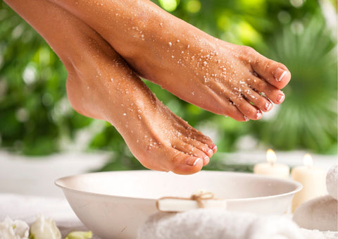 foot spa with essential oils