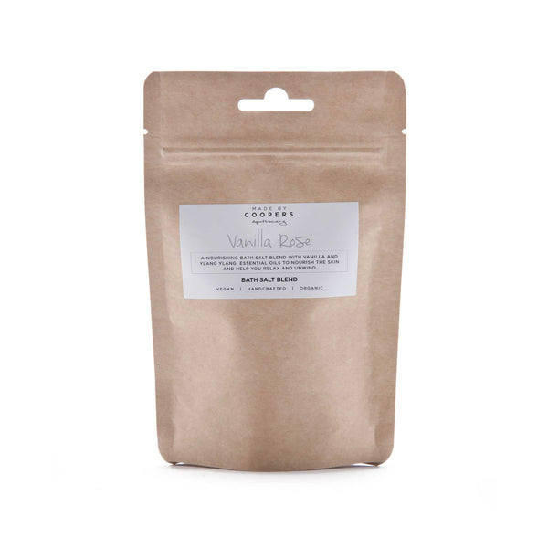 Vanilla Rose Bath Salt Blend - Made By Coopers