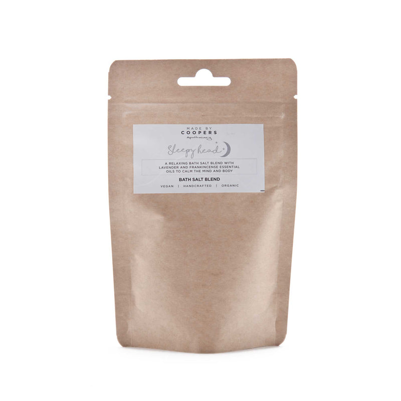 Sleepy Head Bath Salt Blend - Made By Coopers