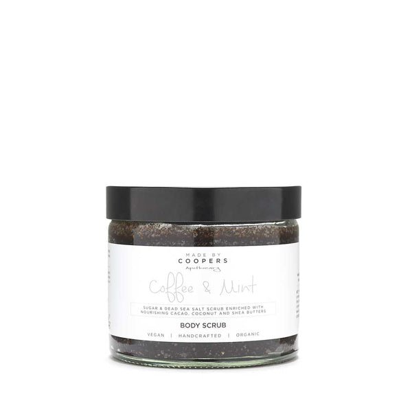 Coffee & Mint Body Scrub - Made By Coopers