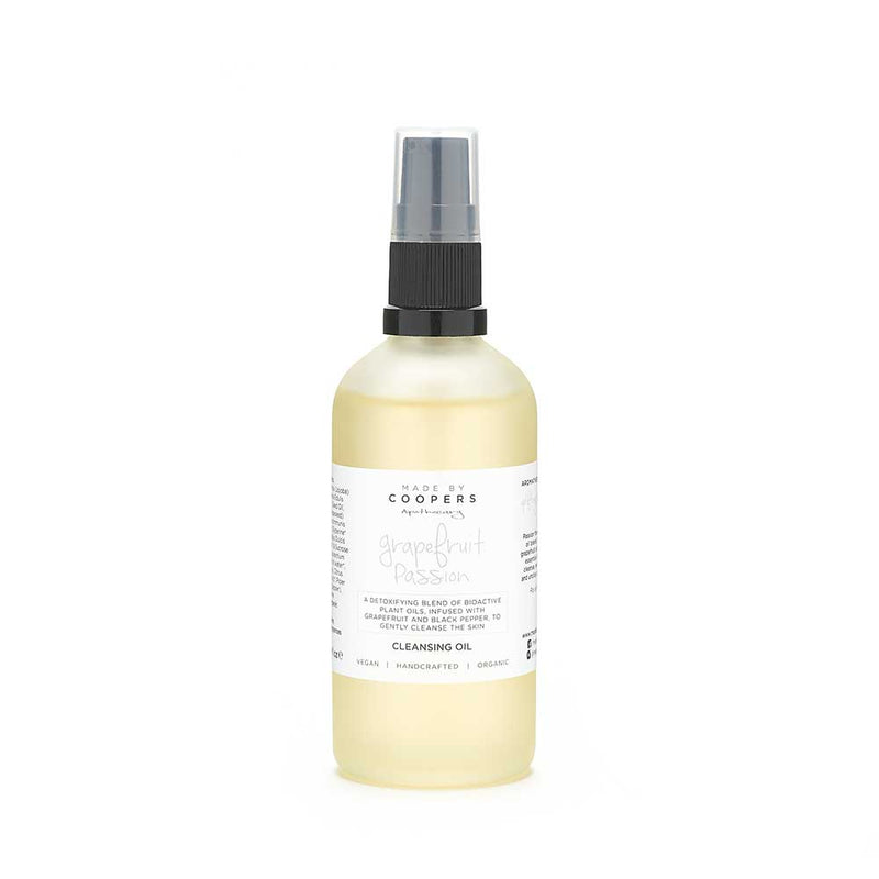 Grapefruit Passion Cleansing Oil - Made By Coopers
