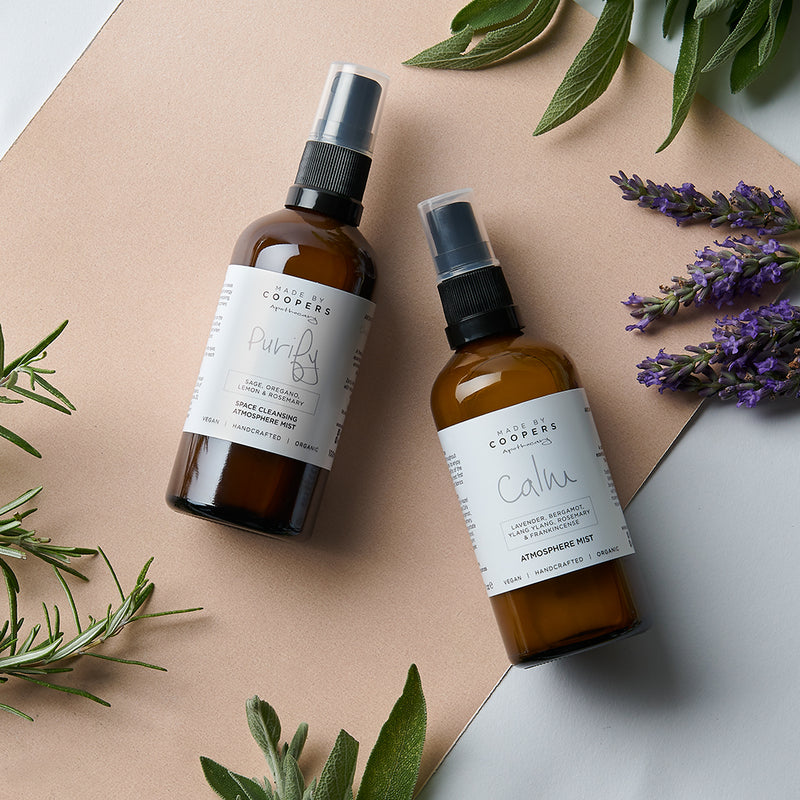 Purify & Calm Atmosphere Mist Gift Set - Made By Coopers
