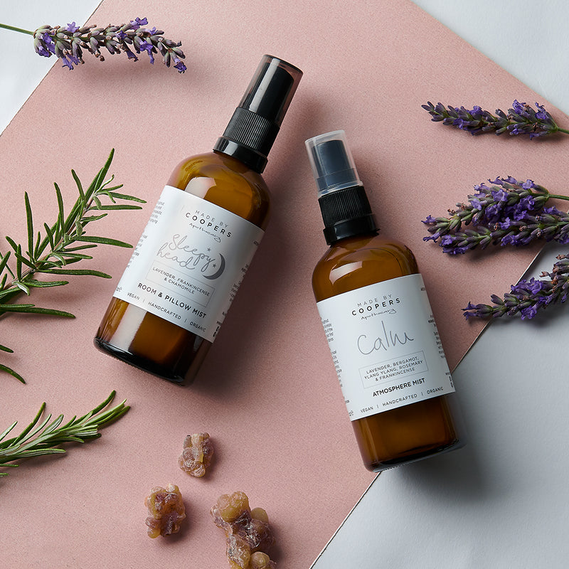Calm & Sleepy Head Atmosphere Mist Gift Set - Made By Coopers
