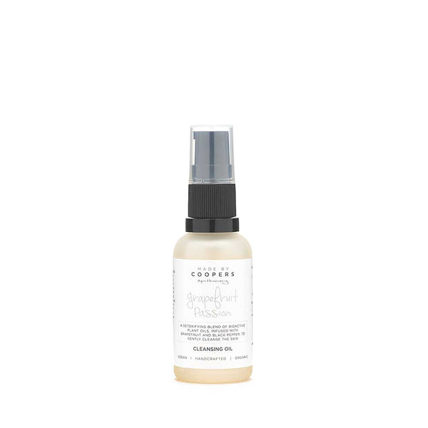Grapefruit Passion Cleansing Oil (Travel Size) - Made By Coopers