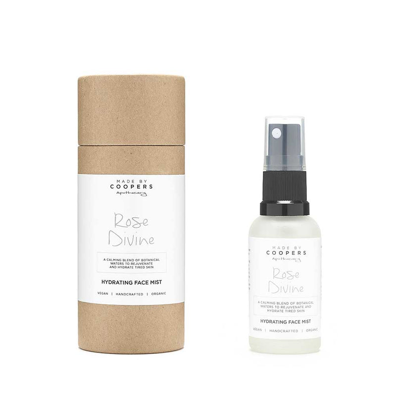 Rose Divine Hydrating Face Mist (Travel Size) - Made By Coopers