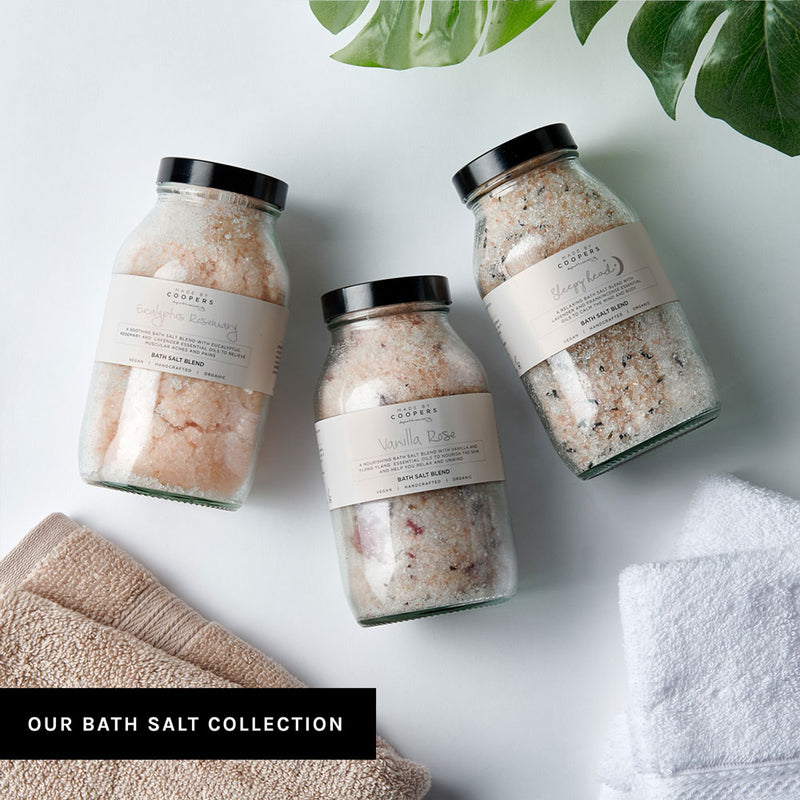 Eucalyptus Rosemary Bath Salt Blend - Made By Coopers
