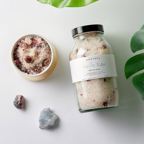 Vanilla Rose Bath Salt Blend