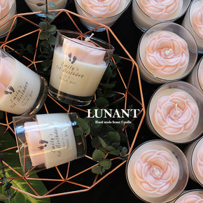 [20 of Set] Camellia candle with Free Shipping