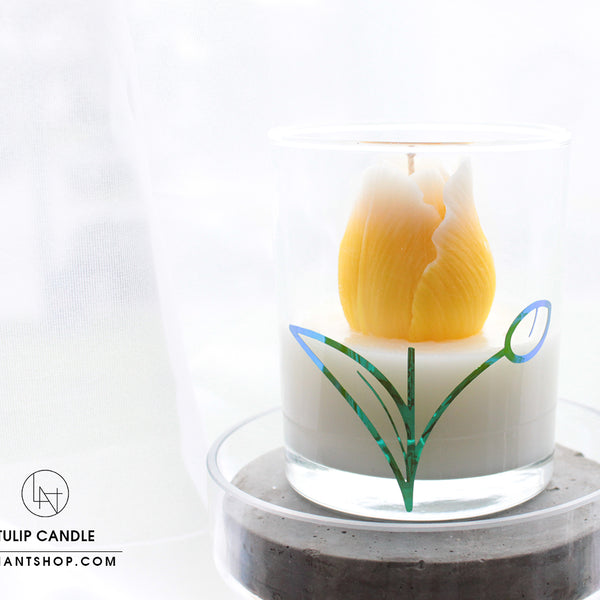 Bling Tulip Candle
