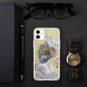 Lotus lady : iPhone Case