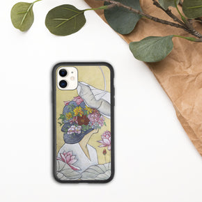 Lotus lady : Biodegradable  case