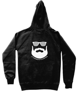 The Boot Camper Unisex Hoodie (Front & Back Logo)