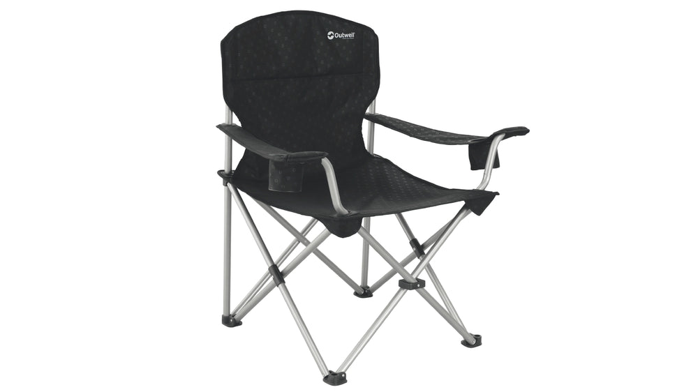 Outwell Catamarca XL Camping Arm Chair Black