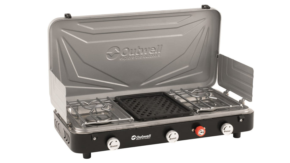 Outwell Rukutu Double Gas Hob with Grill