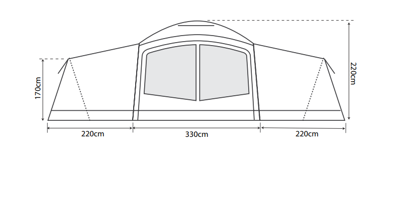 Outdoor Revolution Camp Star 1200 Air Package Deal 2021 - Pre-Order