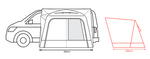 Outdoor Revolution Cayman Low Drive-away Awning Package Deal 2021 - Pre-Order