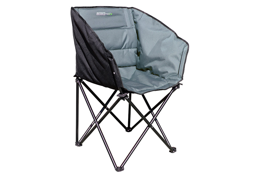 Outdoor Revolution Tub Chair Grey/Black