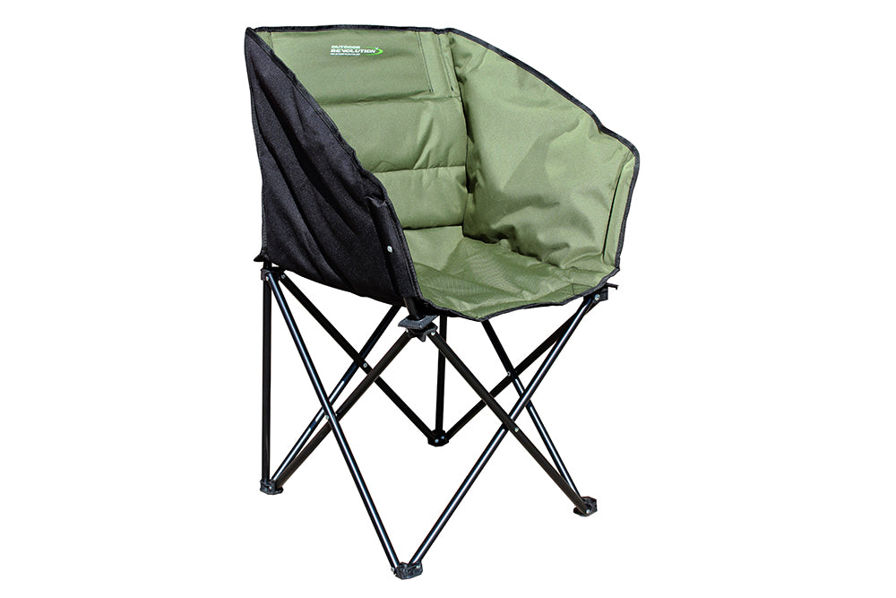 Outdoor Revolution Tub Chair Green/Black
