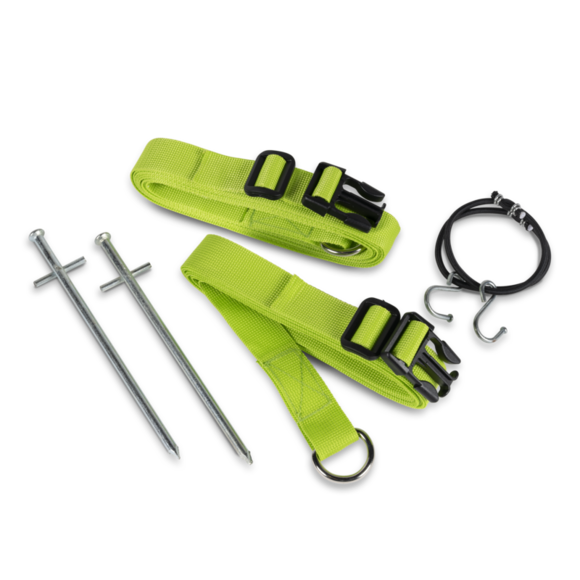 Dometic Storm Tie Down Kit Green