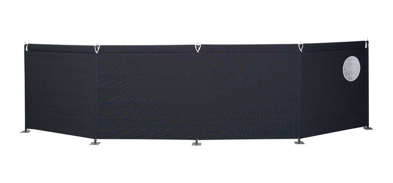 Isabella 4 Sided Windscreen Grey 2020